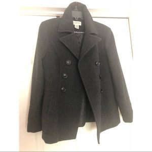St Johns Bay Wool/Cashmere blend peacoat. Size XS.
